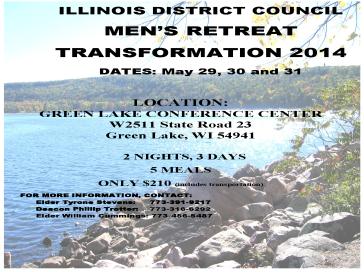 IDC MEN retreat 2014 flyer